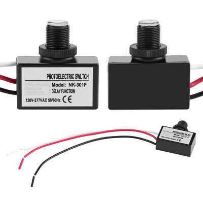120v-277vac Light Sensor Control Automatic Onoff Photoelectric Switch For Light