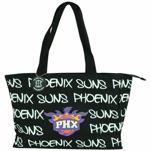 NBA Robin Ruth Phoenix Suns Medium Tote Hand Bag Glitter Wom