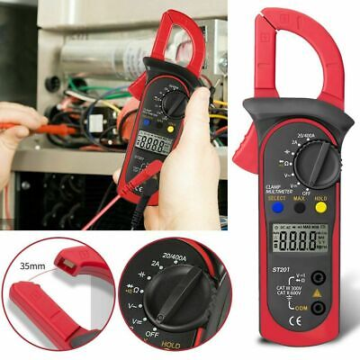 Digital Clamp Meter Multimeter Handheld Dcac Automatic Range Ohm Amp Tester Lcd