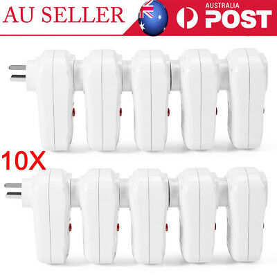 10X Smart Wireless Remote Control Wall Socket Switch Power Outlet AU SHIP