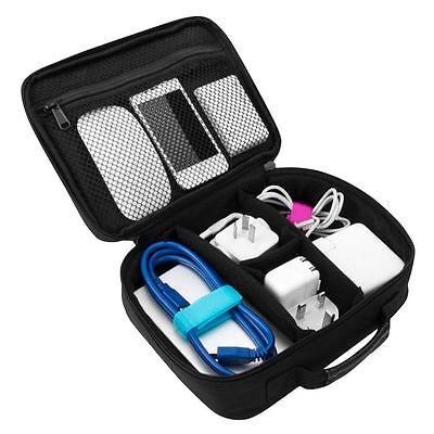 Kabel-organizer (Reise Organizer Ordnung Tasche Beutel für Kopfhörer USB Kabel Elektronik Zubehör)