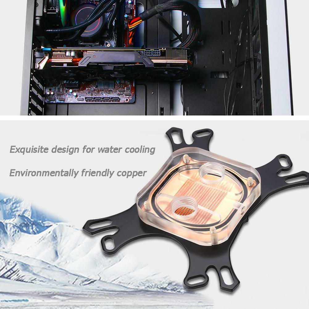 CPU Water Block Water Cooler Computer Cooling Radiator for I