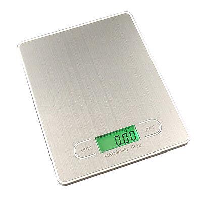 Digital Kitchen Scale, 11lb/5kg Digital Multifunction Platform with LCD Dis W7I2