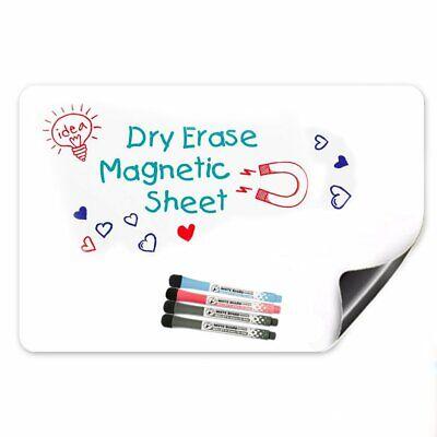 17 X 12 Magnetic Dry Erase White Board For Refrigerator Kitchen Fridge Planner
