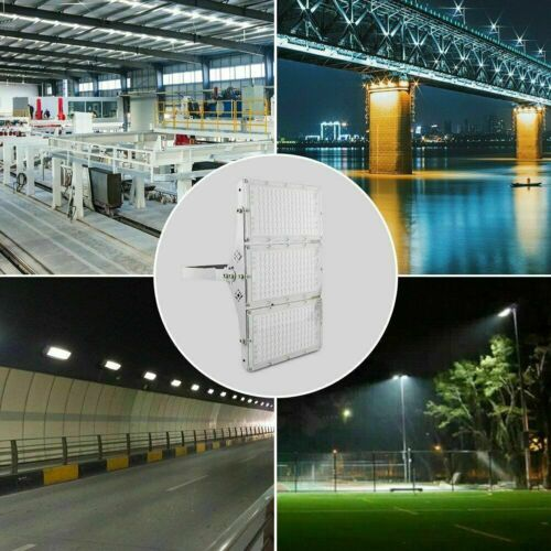 300W 200W 100W LED Flood Light Outdoor Module Spotlight Garden Yard Lamp US 10
