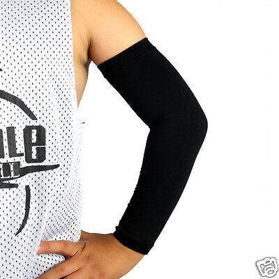US Ship Youth Size Arm Sleeve Junior Kids Basketball Soccer Baseball Small Size