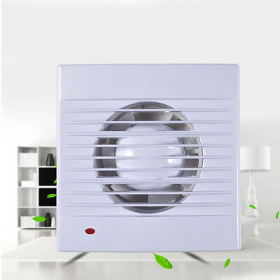 4,6 Inch Ventilation Extractor Exhaust Fan Window Wall Kitchen Bathroom Toilet