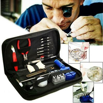 16pcs Watch Repair Tool Kit Link Remover Spring Bar Tool Case Opener Set New (Open Watch Case)