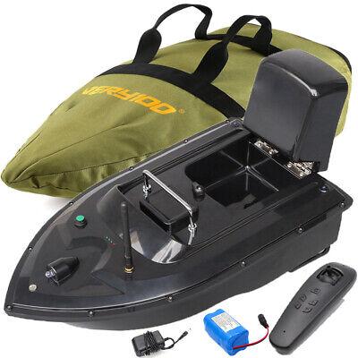 VERY100 Wireless RC Carp Fishing Bait Boat Carp Hook Post Boat Dual Motors 500M
