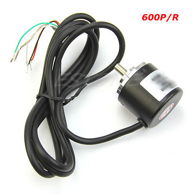 Encoder 600 P R 5v-24v Incremental Rotary Ab 2 Phase 6mm Shaft