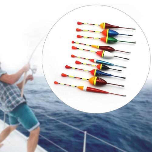 `5Pcs//Set Carp Fishing Float Bobbers Freshwater Saltwater Tackle Tool Float V0Z5