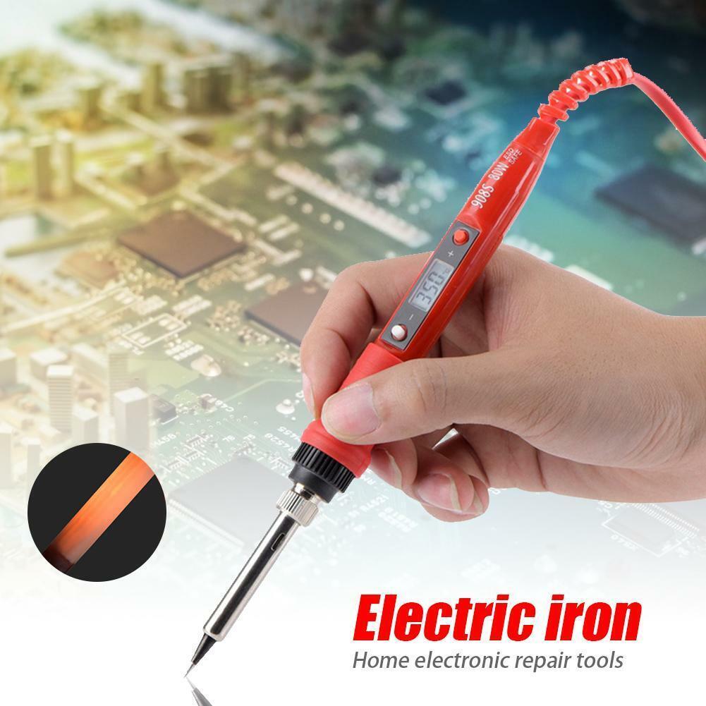 80W Digital Temperature Adjustable Electric Soldering Iron W