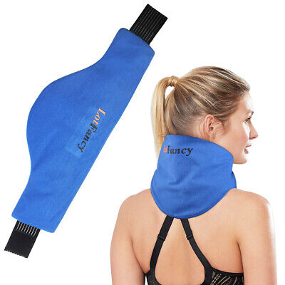 Shoulder Neck Ice Pack Wrap Cold/Hot Therapy Hand Foot Wrist Elbow Pain (Neck Ice Wrap)