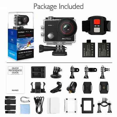 Akaso EK7000 PRO Ultra HD 4K Action Camera Cam 16MP Wifi Sports DV Camcorder New