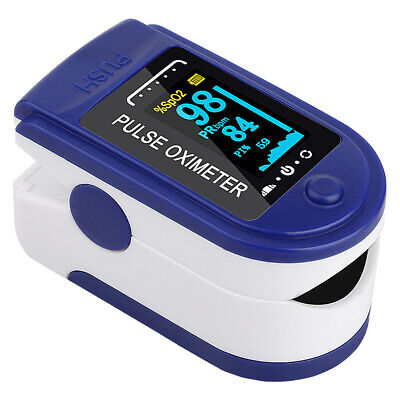 Portable Digital Oled Fingertip Pulse Oximeter Blood Oxygen Saturation Meter