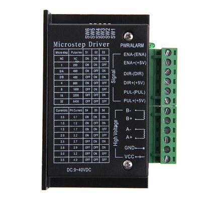 Tb6600 Single Axis 4a Stepper Motor Driver Controller 940v Micro-step Cnc