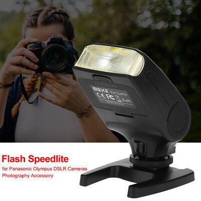 Meike Blitz Blitzgerät für Panasonic Olympus DSLR-Kamera Flash Speedlite MK320-P