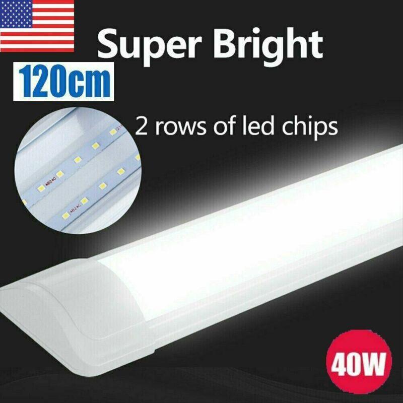 4 PACK 4FT LED SHOP LIGHT 6000K Daylight Fixture LED Ceiling Lights Garage Lamp