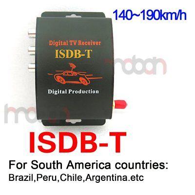 Mobile Car Isdb T Digital Tv Tuner Box Receiver For South America Brazil Peru
