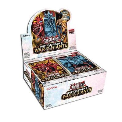 Giants Booster Pack - KONAMI Yu-Gi-Oh! TCG BATTLE PACK 2: WAR OF THE GIANTS BOOSTER BOX