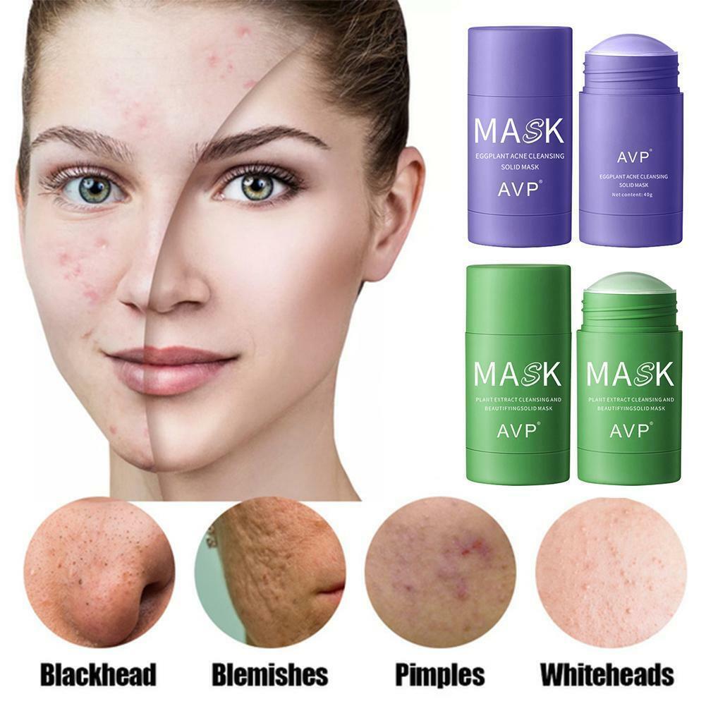 Green Tea Mask Face Beauty Skin Moisturizing Blackhead Removal New Hot Sale