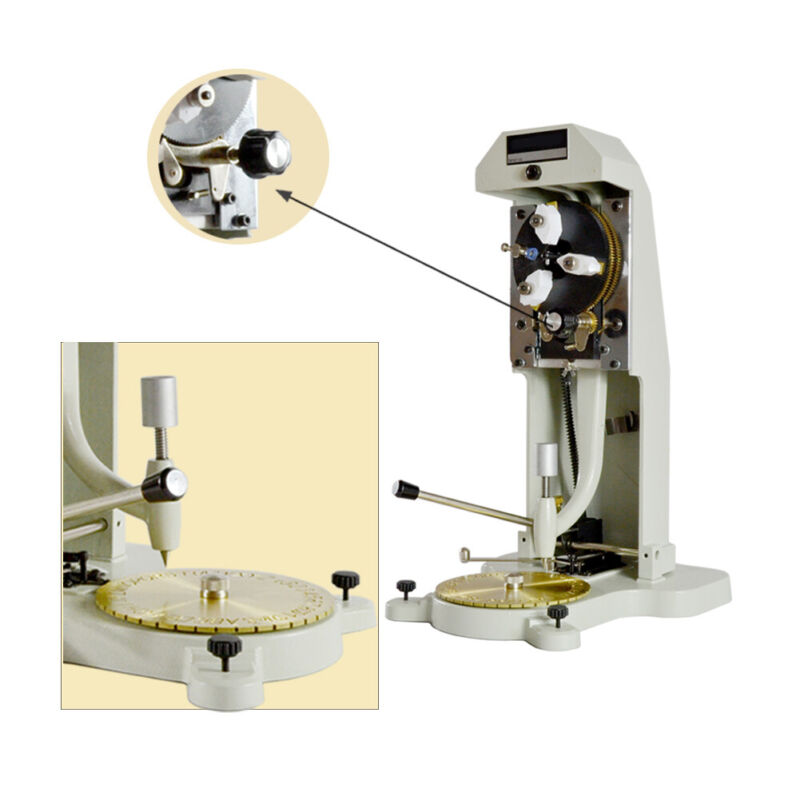 Inside Ring Engraver & Two Faces Standard Letter Block Dial Engraving Machine