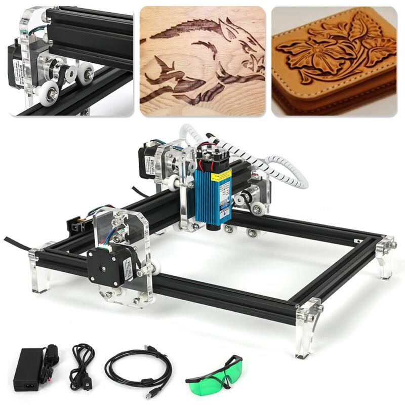 New! 500MW Area Mini CNC Laser Engraving Machine DIY kit Desktop Laser Printer