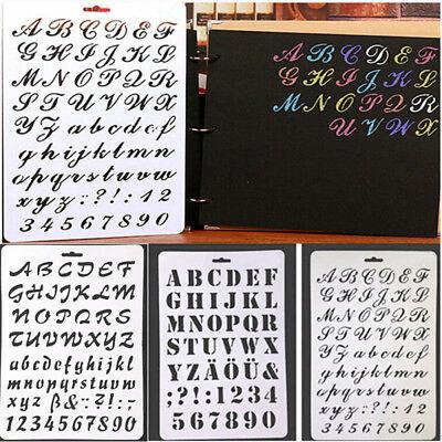 Brief Alphabet Stempel Malen Papierbasteln Nummer NA DE (Alphabet Nummer)