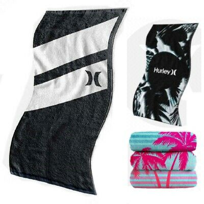 Hurley Beach Towels - Brand New with Tags - Hurley Surf Towels Velour / Cotton