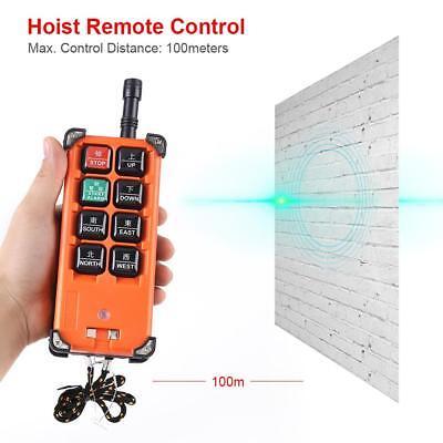 24VDC Hebezeug 1 Speed Radio Funkfernsteuerung Steuerung Empfänger Kran Baukran ()