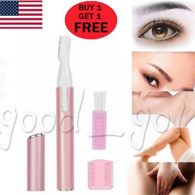 Body Hair Razor - 2PACK Electric Face Neck Eyebrow Hair Body Blade Razor Shaver Remover Trimmer