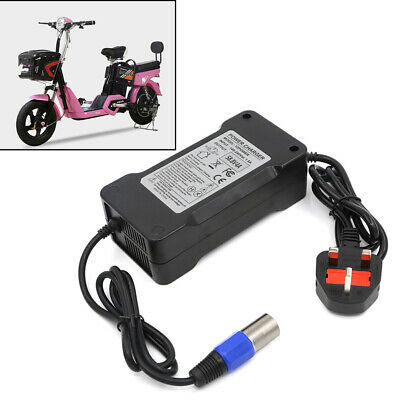 58.8V 4A Power Battery Charger UK Plug for E-bike Electric Bicycle