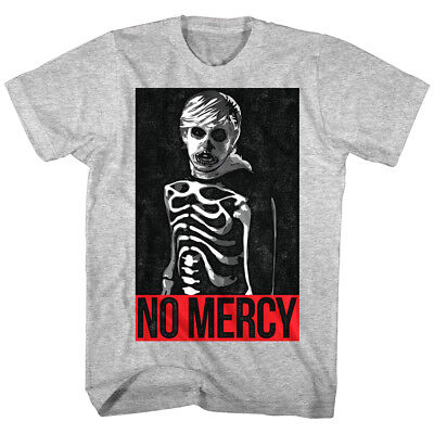 Karate Kid Cobra Kai Johnny Lawrence Skeleton Men's T Shirt No Mercy Zabka Gray