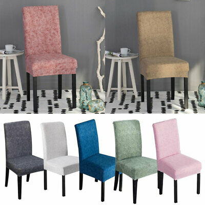 Stretch Spandex Chair Covers Slipcovers Dining Room Wedding Banquet Party Decor](Chair Decorations)