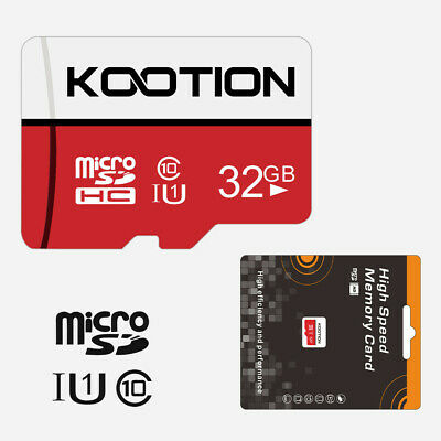 1pc 32GB Micro SD Card SDHC Flash Class 10 TF Memory Card 70MB/s Store TF Card Gigabyte Pc Card Memory