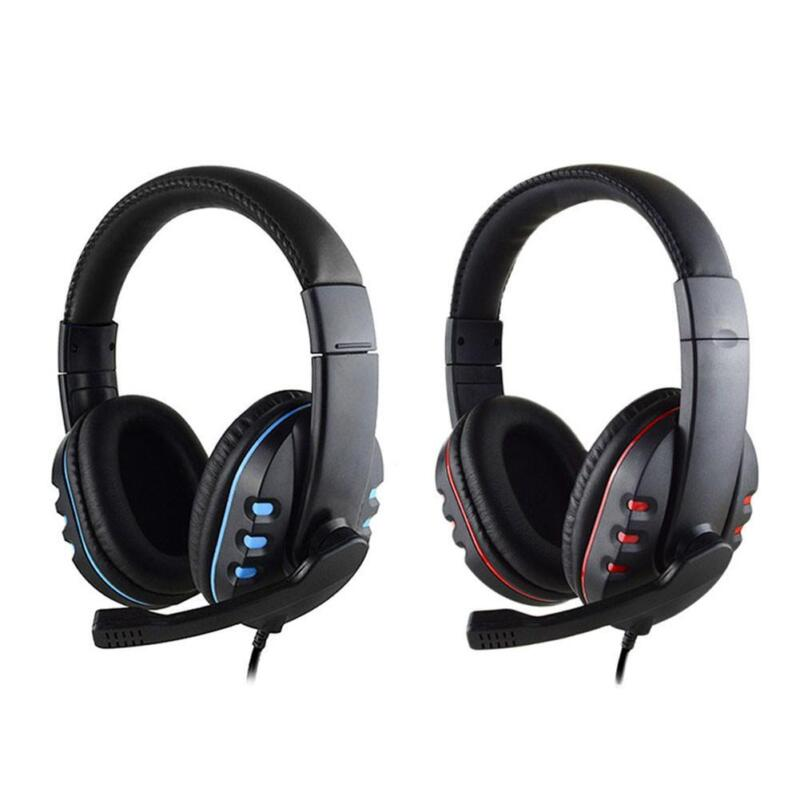 Wired Gaming Stereo Headset Headphone with Microphone With G