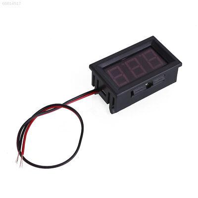 5787 Lcd Digital Dc Red Led Display Voltmeter Panel Voltage Volt Meter Gauge 2 W