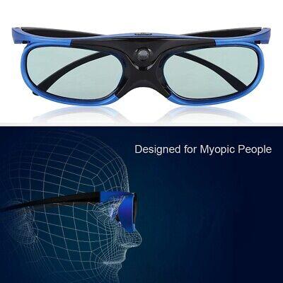 Universal Active Shutter Type 3D Glasses DLP Link 3D Projector 3D Glasses Len
