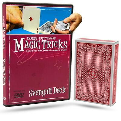 Magic Tricks You Can Master: Svengali Deck Combo
