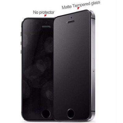 For iPhone 8 Plus X SE 9H Matte Anti-Glare Temper Glass Screen Protective Films - Protective Matte