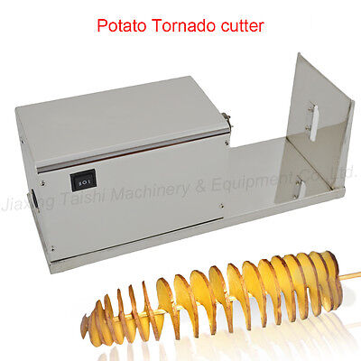 Electric Stainless Steel Twisted potato Slicer/Automatic Tornado potato Cutter