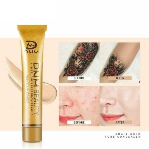 Professionelle Tattoo Cover Concealer Creme Basis Gesicht Körper Augen Kont F9M7