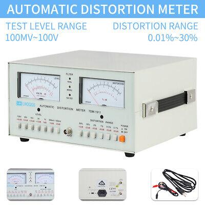 Tdm-1911 Automatic Distortion Tester 0.01 - 30 Audio Distortion Meter 110v