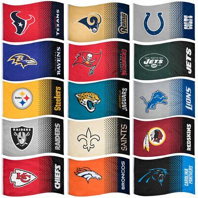 NFL Fahne Fade Fan Flag American Football Flagge Cowboys Cardinals Panthers neu