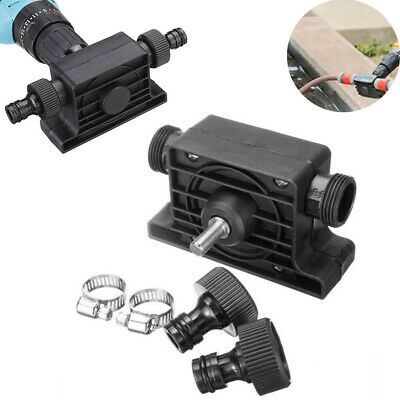 Electric Drill Drive Self Priming Pump Home Oil Fluid Water Transfer Pumps Tools