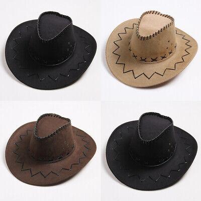 Shapeable Straw - Cowboy Western Shapeable Straw Hat Wide Brim Cowgirl Summer Beach Sun Cap Pretty
