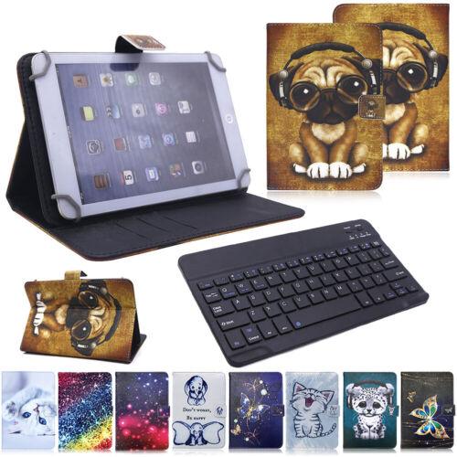 "US For iPad 7th Generation 10.2"" 2019 Keyboard Pattern Leath"