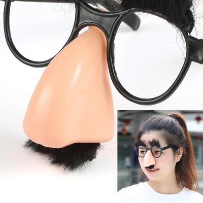 Novaty Gläser Schnurrbart Fake Nase Clown Fancy Dress up Kostüm Requisiten - Fake Brille Kostüm