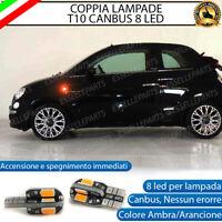 COPPIA FRECCE LATERALI PROGRESSIVE A LED PER FIAT 500L CANBUS SEQUENZIALI