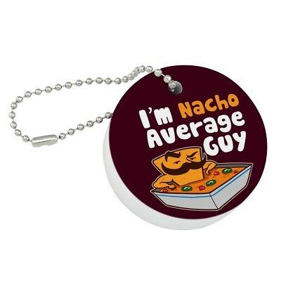 I'm Nacho Average Guy Chip with Mustache Funny Round Floating Foam Boat - Nacho Boats